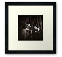 { the bunnies } Framed Print