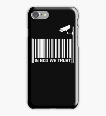 In God we trust 3 iPhone Case/Skin