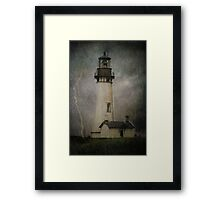 Late Afternoon Storm.... Framed Print