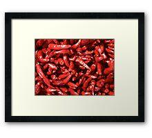 Chili! Framed Print