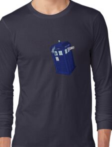 Palkia and Dialga: TARDIS Adventures! Long Sleeve T-Shirt