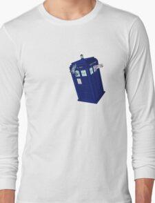 Palkia and Dialga: TARDIS Adventures! Long Sleeve T-Shirt