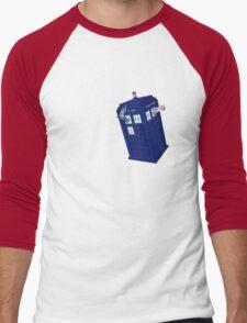 Palkia and Dialga: TARDIS Adventures! Men's Baseball ¾ T-Shirt