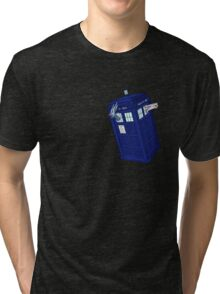 Palkia and Dialga: TARDIS Adventures! Tri-blend T-Shirt
