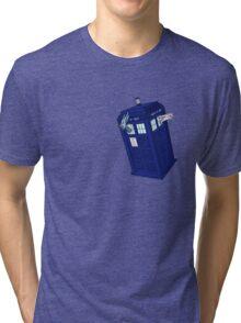 Palkia and Dialga: TARDIS Adventures! Tri-blend T-Shirt