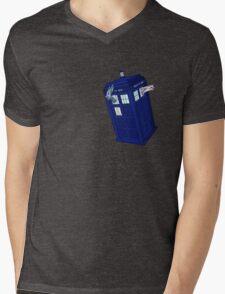 Palkia and Dialga: TARDIS Adventures! Mens V-Neck T-Shirt