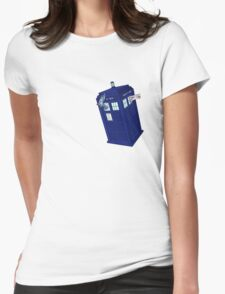 Palkia and Dialga: TARDIS Adventures! Womens Fitted T-Shirt