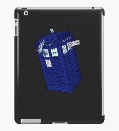 Palkia and Dialga: TARDIS Adventures! iPad Case/Skin