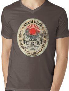 japanese beer Mens V-Neck T-Shirt