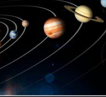 Solar System Poster Sticker