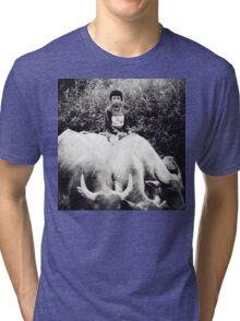 North Vietnam ~ Buffalo Boy Tri-blend T-Shirt