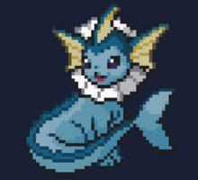 Vaporeon 8-bit by Lith1um