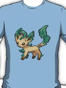 Leafeon 8-bit T-Shirt