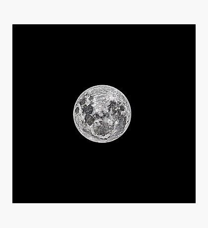 The night before the Full Moon Photographic Print