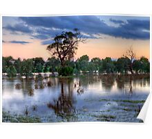 If It Rains It Pours, Junee, NSW Australia (The Photographers Cut) - The HDR Experience Poster