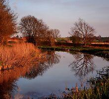 Along the Tow path by John Dunbar
