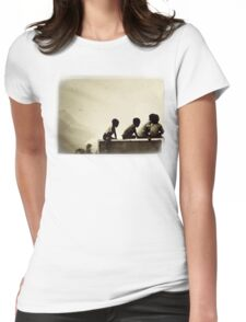 Sapa - Childhood Happiness Womens Fitted T-Shirt