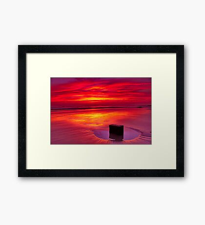"""Cosy Solitude"" Framed Print"