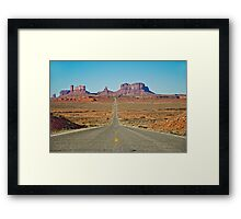 Highway 163 Framed Print
