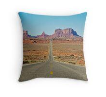 Highway 163 Throw Pillow