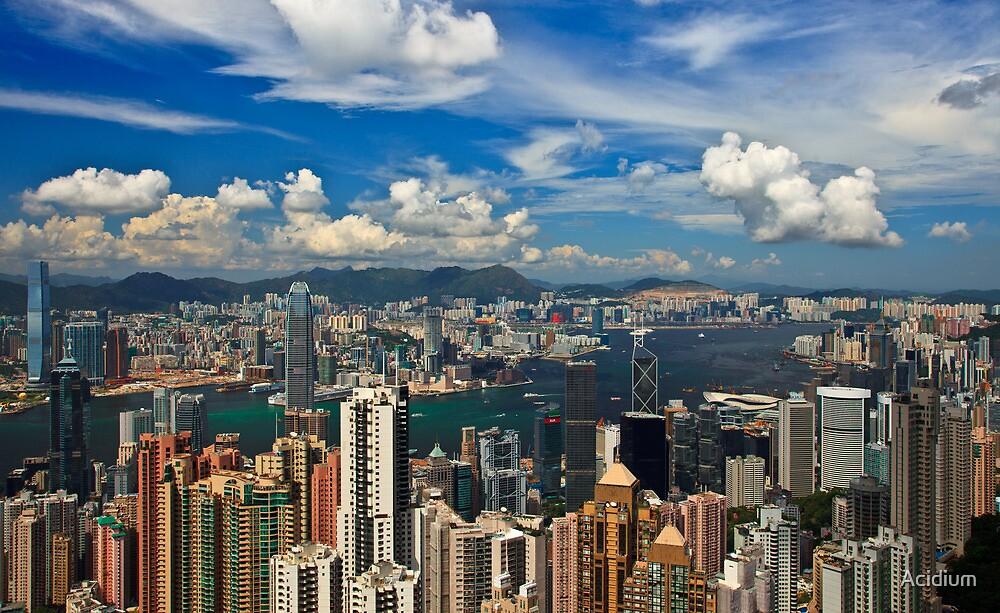 Victoria Peak - Hong Kong by Acidium