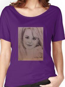 Natalie, Hoops Women's Relaxed Fit T-Shirt