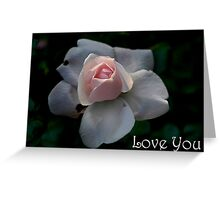 Greeting card - Rose bud Greeting Card