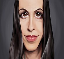 Celebrity Sunday - Alanis Morissette by robCREATIVE
