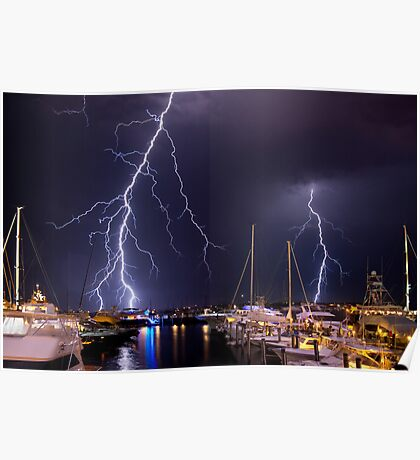 Storm over Nantucket Poster