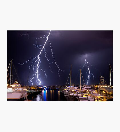Storm over Nantucket Photographic Print