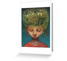 Quietly Wild Greeting Card