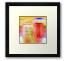 Like a dream fading away Framed Print