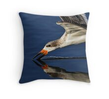 Early Morning Skimmer Throw Pillow