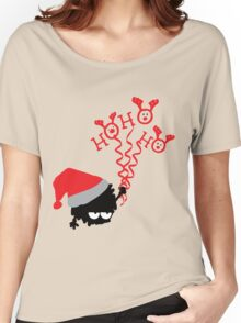 HO HO HO  Women's Relaxed Fit T-Shirt