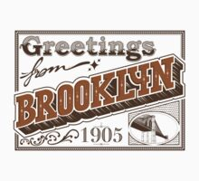 Greetings from brooklyn. by robay