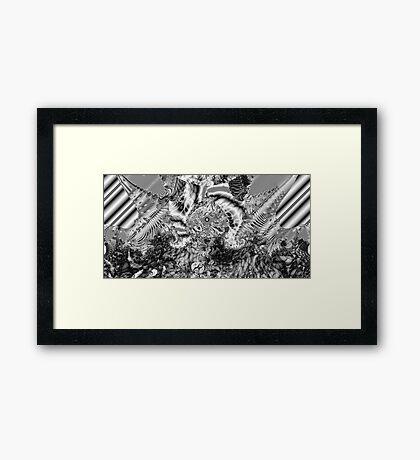 Sterling Black Framed Print