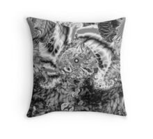 Sterling Black Throw Pillow