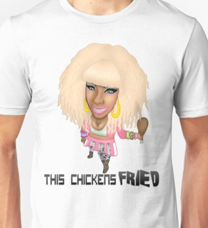 This Chicken's FRIIEEDD. Unisex T-Shirt