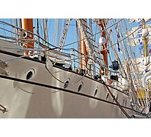 Sails, Masts, Rigging and Rope  Photographic Print