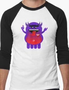 ZOM Men's Baseball ¾ T-Shirt