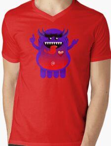 ZOM Mens V-Neck T-Shirt