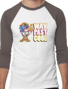 Way Past Cool, Dude! Men's Baseball ¾ T-Shirt