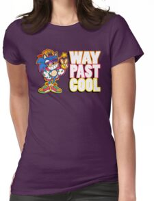 Way Past Cool, Dude! Womens Fitted T-Shirt