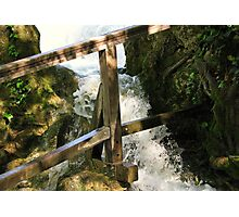 The force of water II Photographic Print