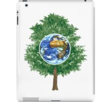 hug a tree iPad Case/Skin