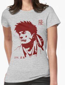 Ryu 隆 - The Spiritual Warrior Womens Fitted T-Shirt