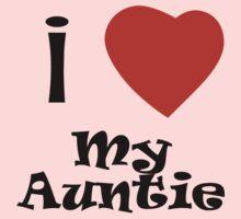 I Love My Auntie One Piece - Long Sleeve