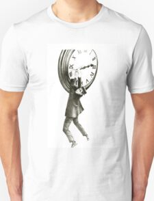 I want to stop time - hommage to Harold Lloyd. T-Shirt
