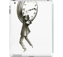 I want to stop time - hommage to Harold Lloyd. iPad Case/Skin