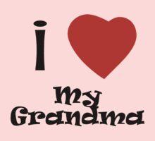 I Love My Grandma One Piece - Long Sleeve